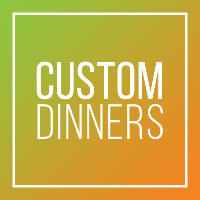 CDM Custom Dinners