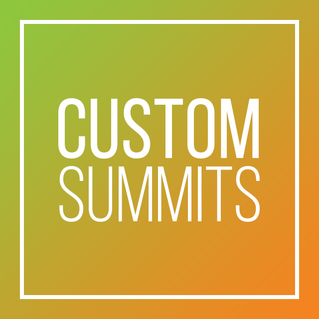 CDM Custom Summits